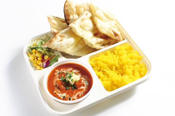 バターチキンカレーセット(ナン・ライス)(butter chicken)/lunch set
