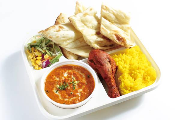 キーマカレーセット(keema curry)/tandoori