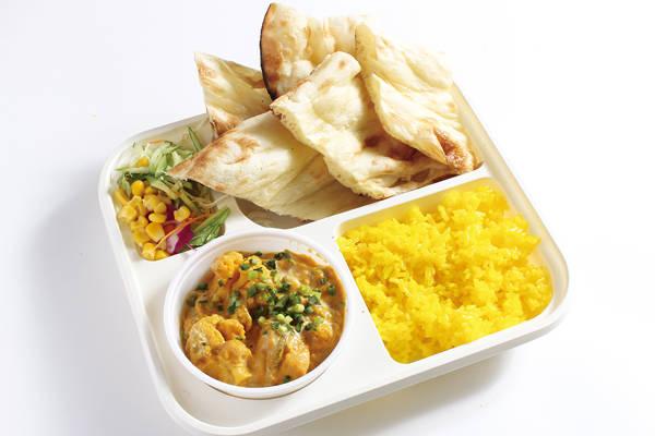 ミックスベジタブルカレーセット(ナン・ライス) Mix Vegetable Curry set