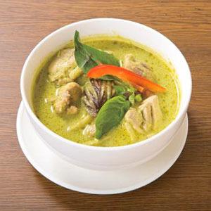 【ランチ】グリーンカレー/Green Curry Lunch Set
