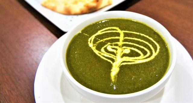 ほうれん草チキンカレー (Chicken With Spinach Curry)