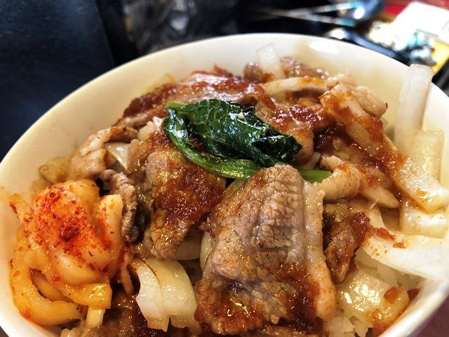秘伝のタレの焼肉丼