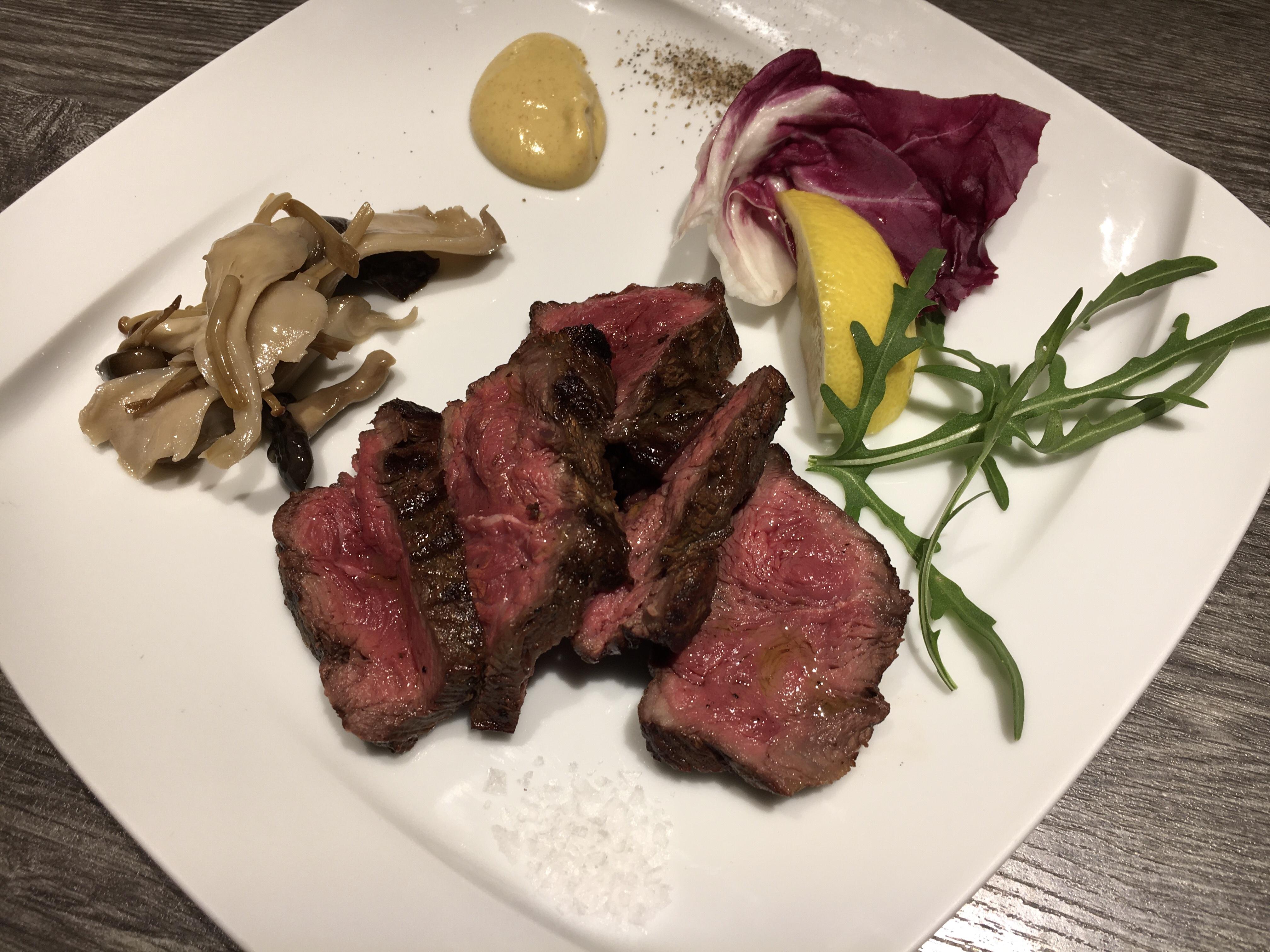 熟成牛のステーキ150g(1~2名様)