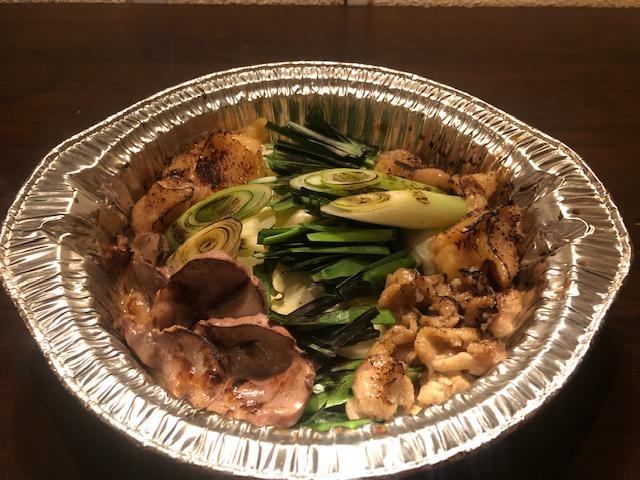 神戸 鶏の炙りモツ鍋(2人前)