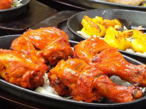 タンドリーチキン/Tandoori Chicken(2P)