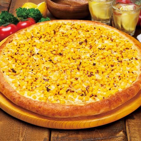 【期間限定】焼きとうもろこしのピザ