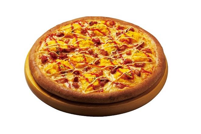 【EPARK限定55%OFF!!】ふんわりたまごと照焼チキンのピザ