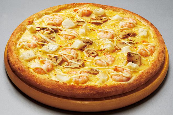 【EPARK限定55%OFF!!】シーフードグラタンのピザ