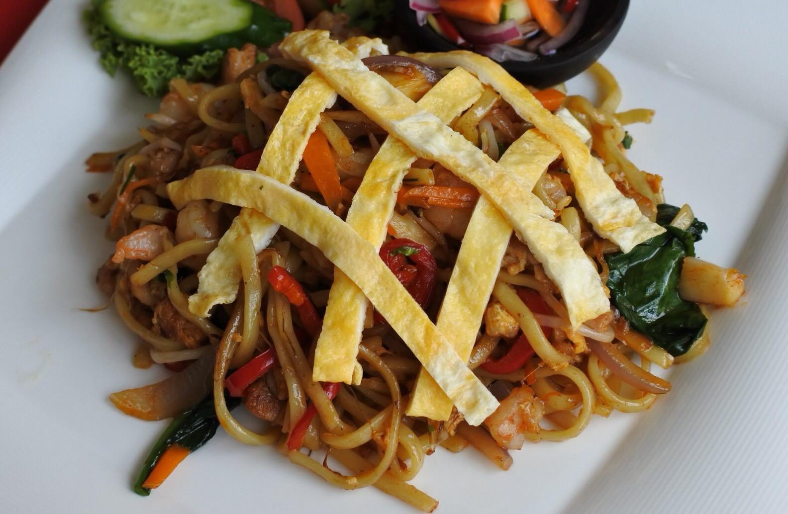 ミーゴレン・シーフード(Mie Goreng Seafood)~バリ島の海鮮焼そば~