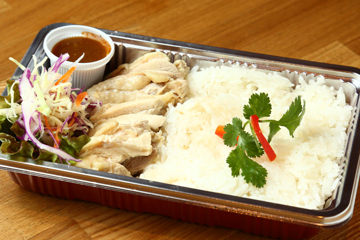 タイ式鳥ご飯(スープ付)