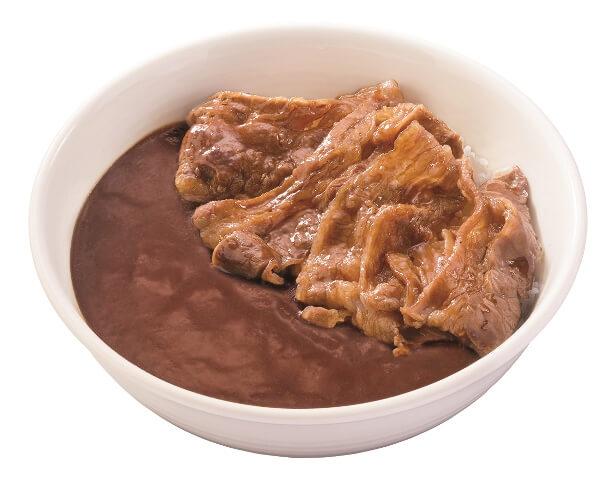 牛カルビ黒カレー