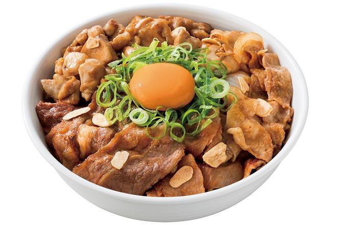 スタミナ超特盛丼(半熟)