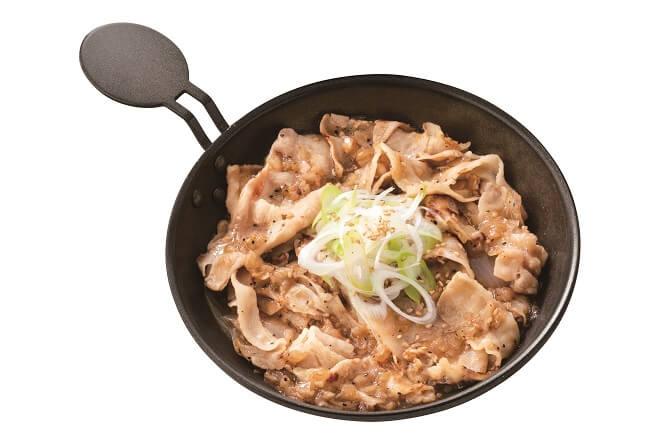 ねぎ塩豚皿