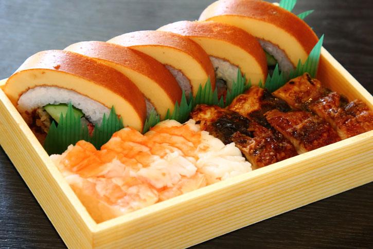 伊達巻箱寿司