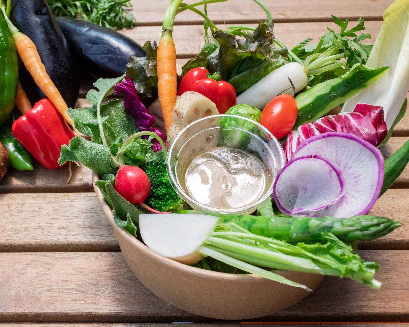 野菜labのバーニャカウダー