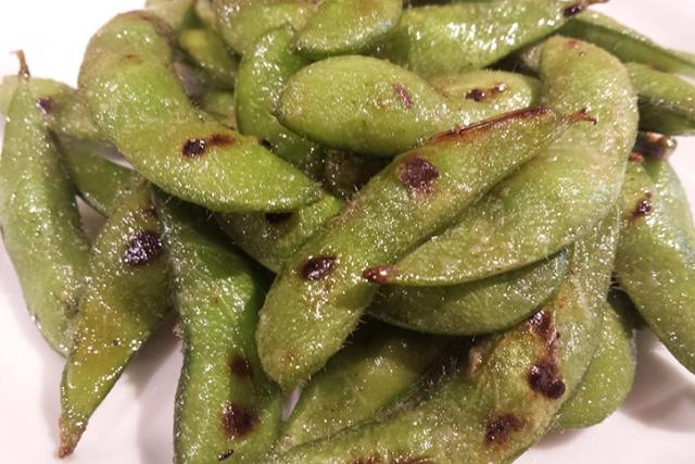 焼き枝豆~ガーリック風味~