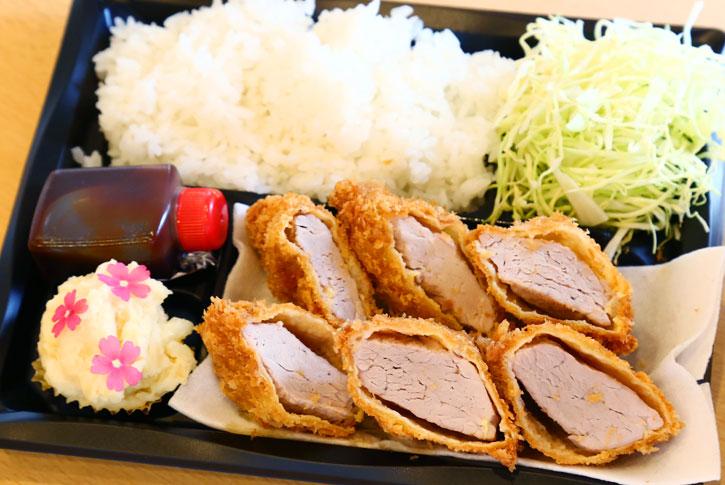 ヒレカツ弁当(3枚入り)