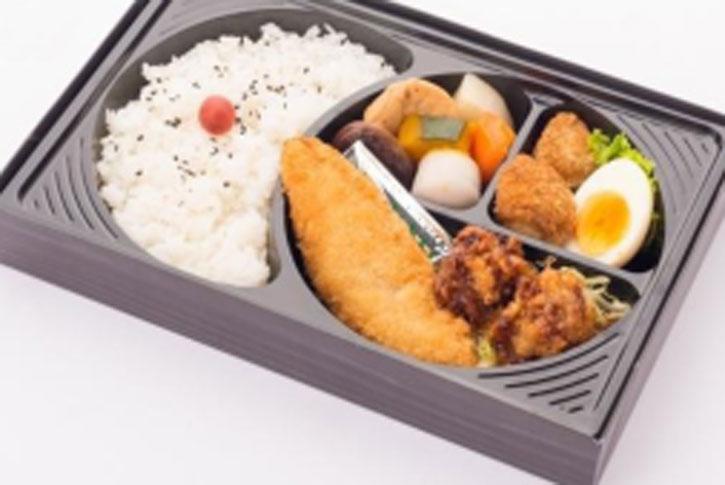 唐揚げ&白身魚フライ弁当