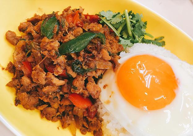 ガパオ炒めご飯 Gapao fried Rice