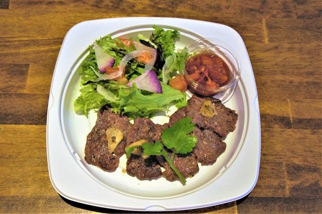 牛ハラミステーキ サルサソース