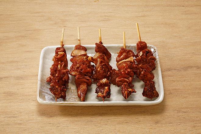 ナンコツ串(たれ)5本