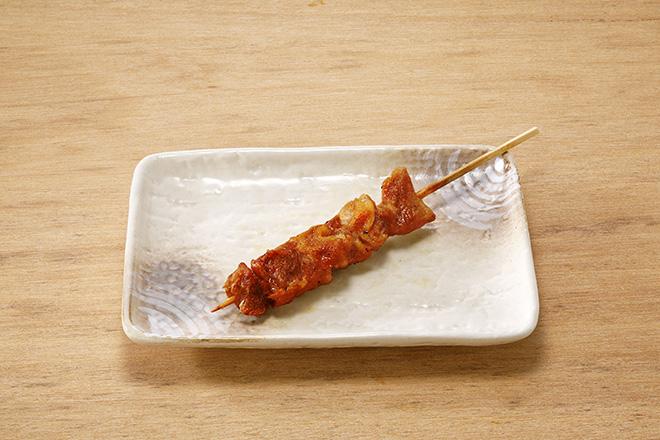 鶏もも串(たれ)1本