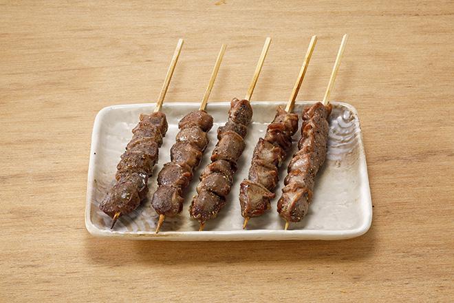 砂肝串(塩)5本