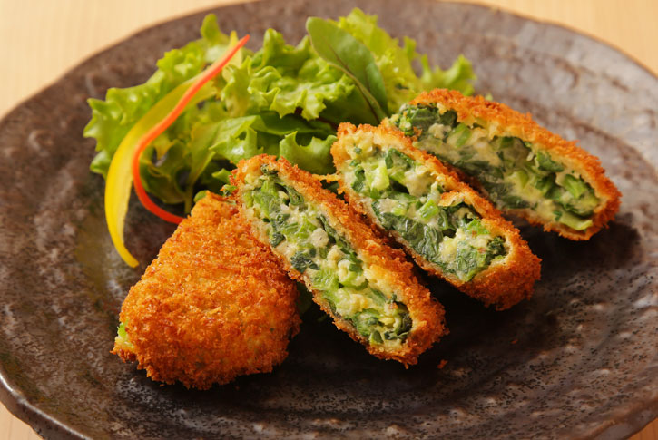 小松菜メンチカツ(1個)