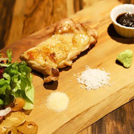 鶏の炭火焼ステーキ