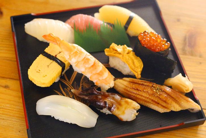 寿司盛り合わせ 上(10貫)
