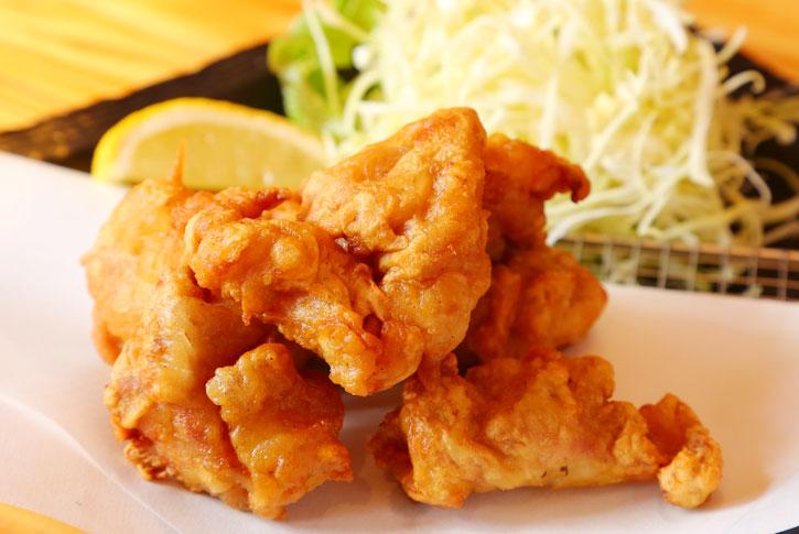 紀州梅鶏の唐揚げ