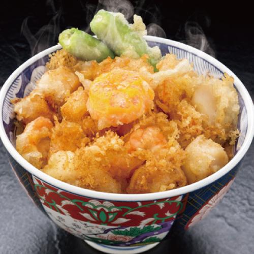 日本一かき揚げ天丼