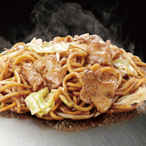 豚焼そば (豚肉 / 秘伝 特製ソース)