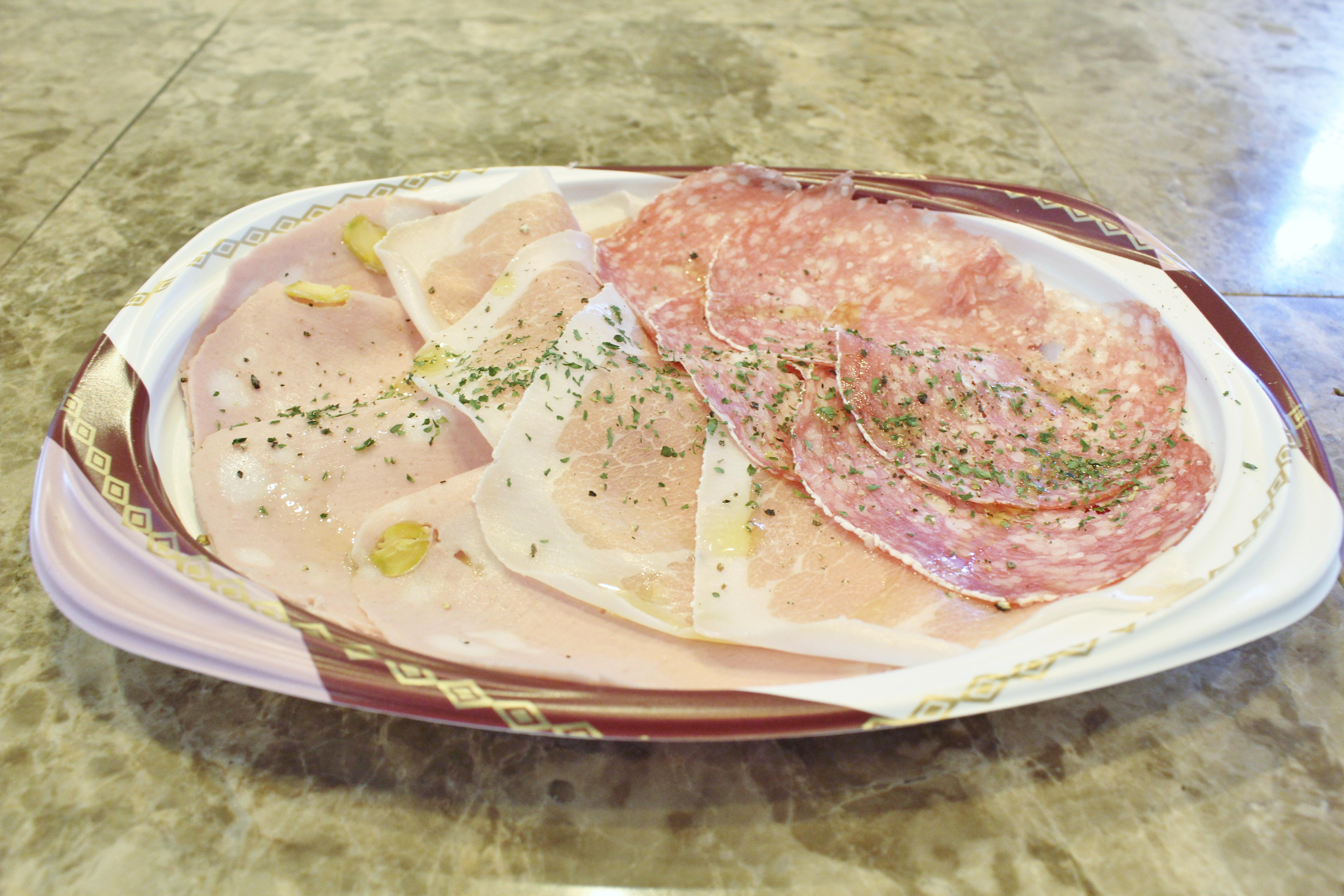 イタリア産切り立て生ハム3種