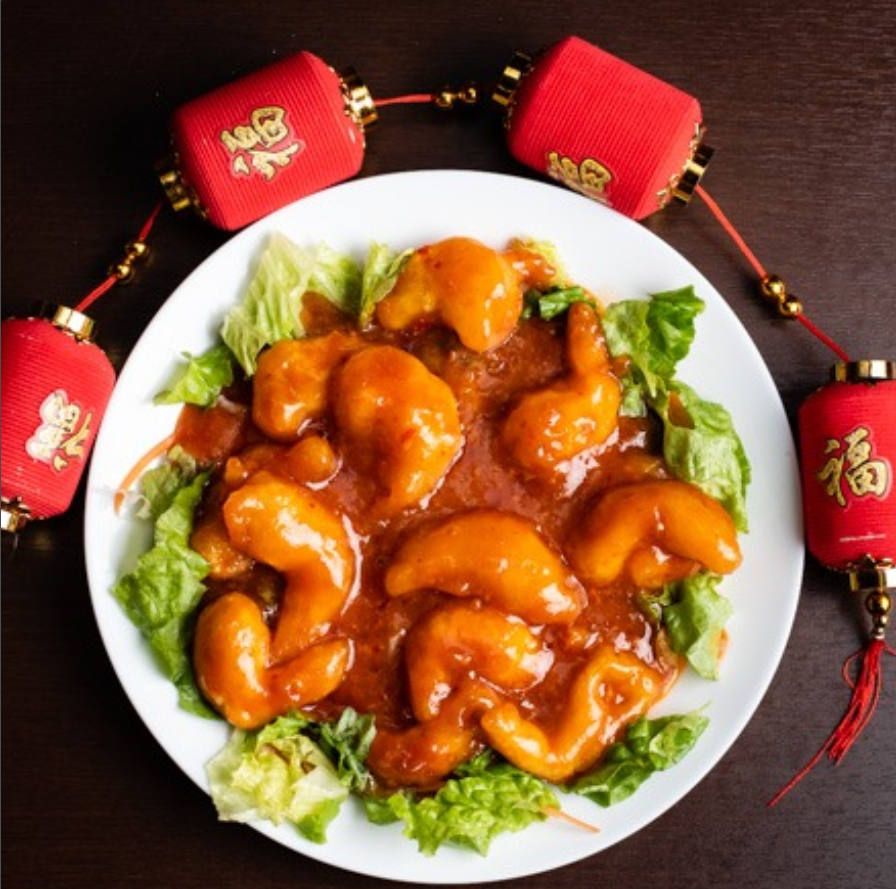 エビチリ Stir-Fried Shrimp with Chili Sauce