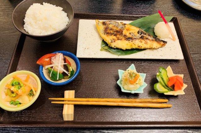 サワラの西京焼き定食