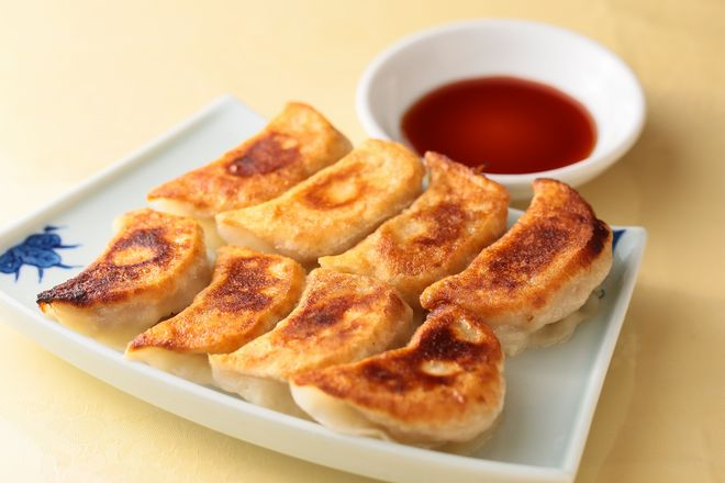 台湾風焼き餃子