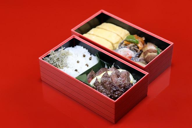 長崎県産牛のゆうこうステーキ弁当