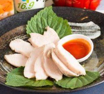 韓国風蒸し鶏