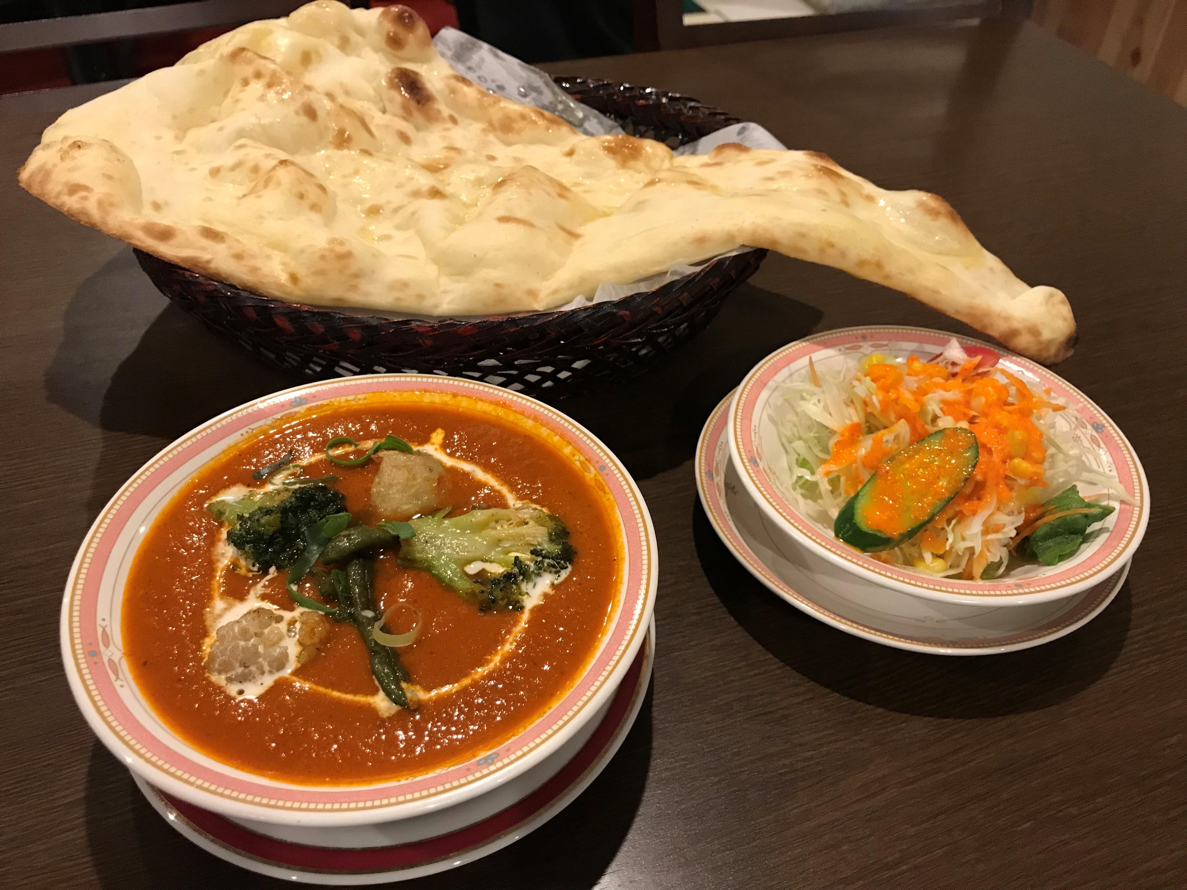 野菜カレーセット(Vegetable curry set)