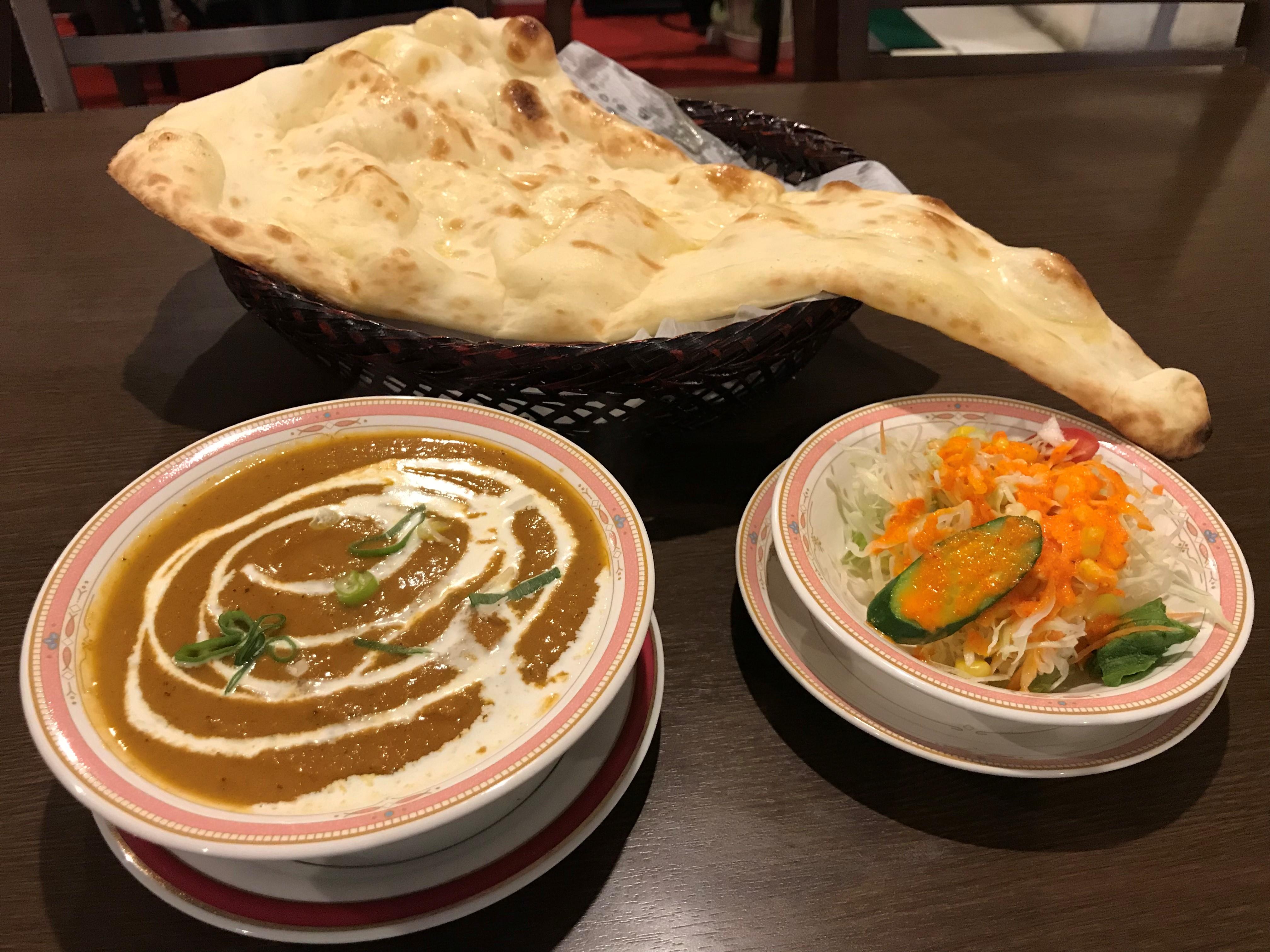 チキンカレーセット(Chicken curry set)