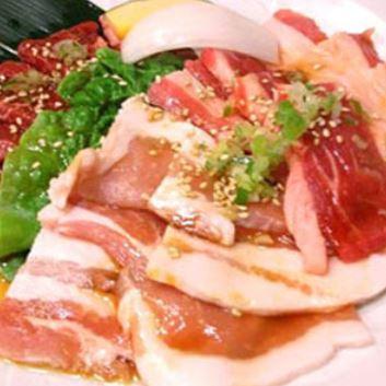 特選(カルビ&ロース)二種盛り焼肉弁当