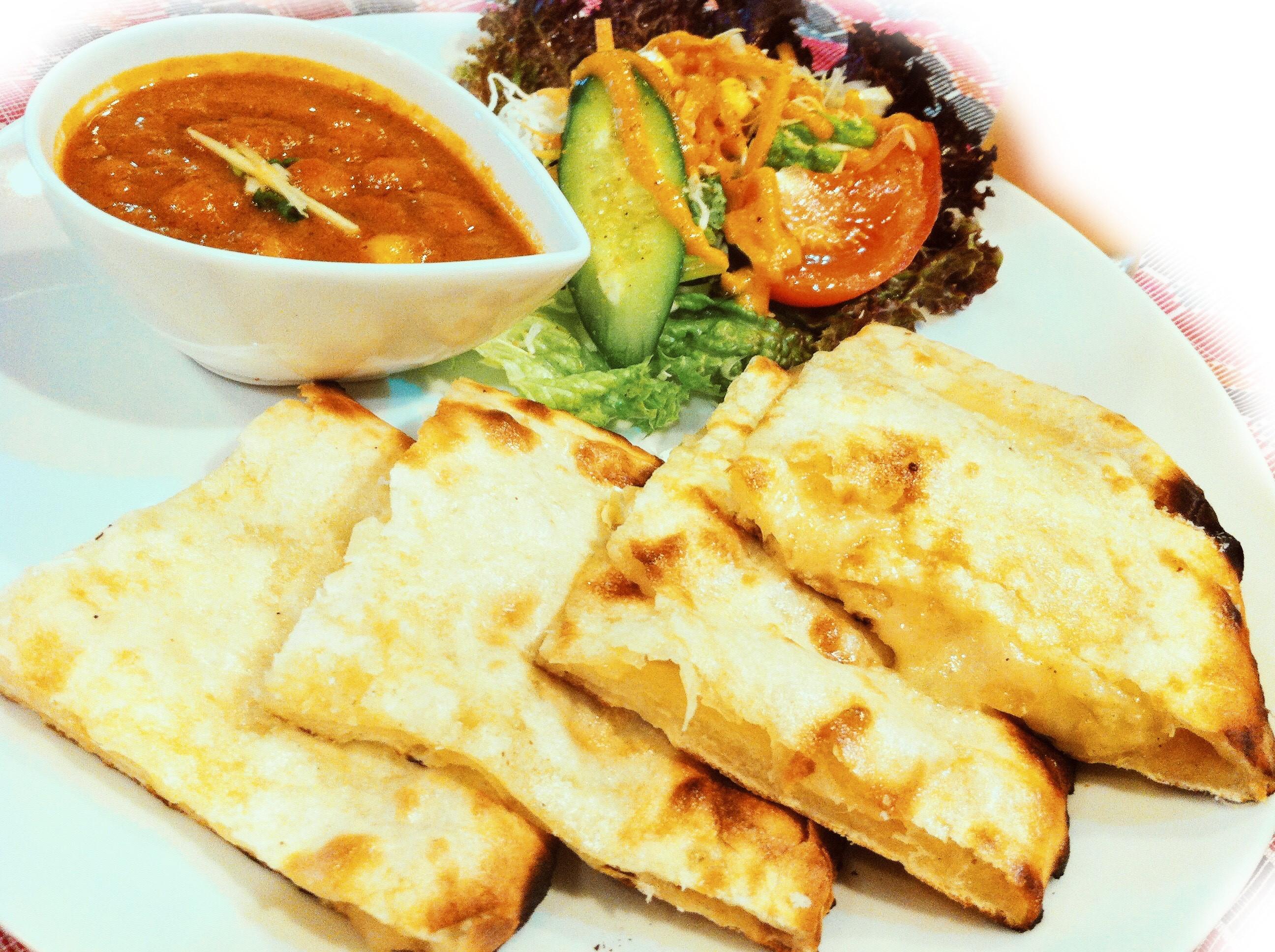 ほうれん草カレー(spinach curry)