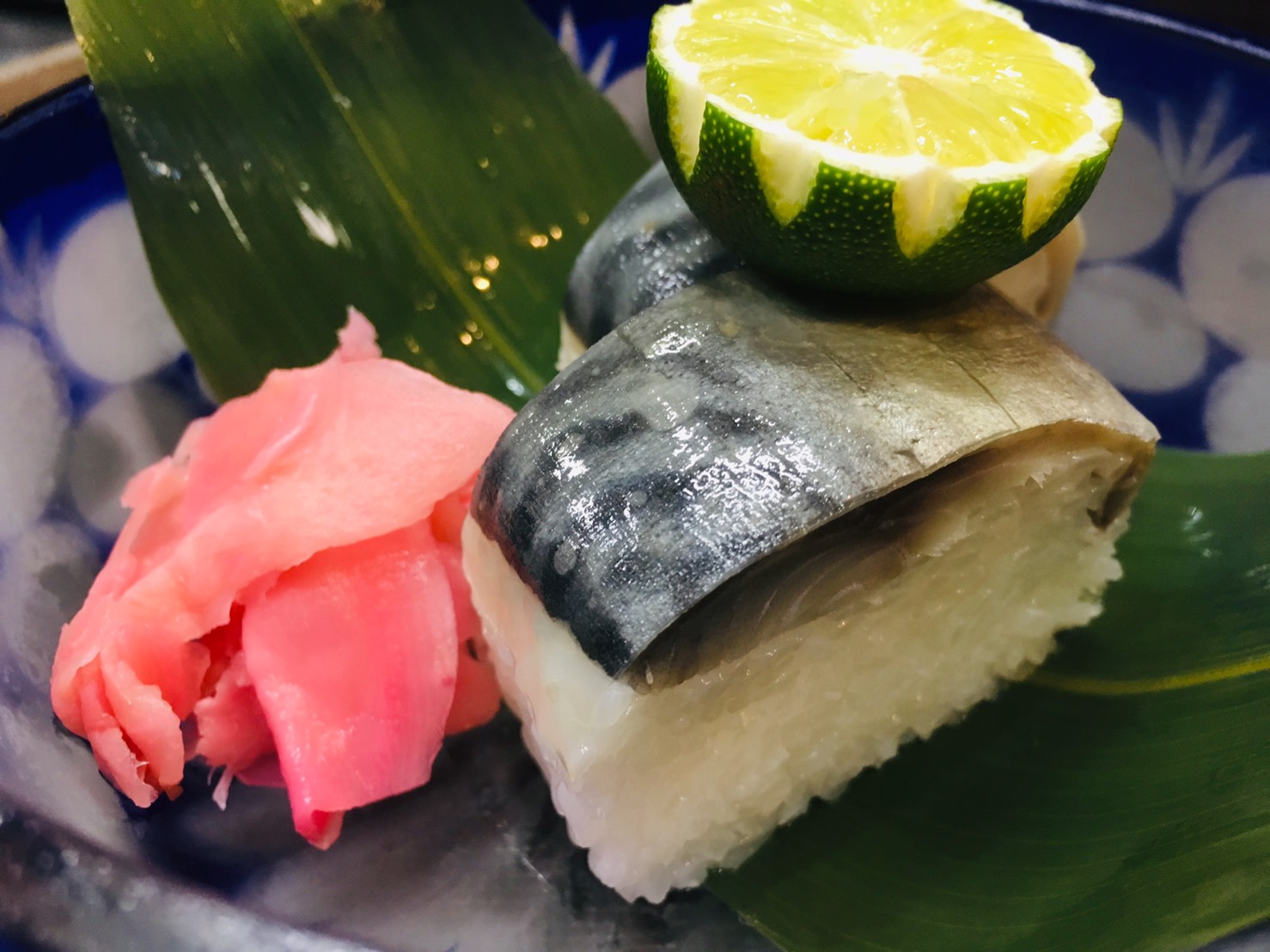 鯖松前寿司 1本(10カン)