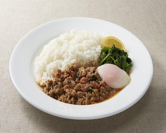 【4J】ガパオ・ガイ~鶏肉のバジル炒めごはん