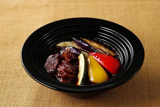 【1Y】夏野菜のビーフシチューハンバーグ
