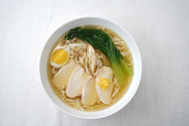 【7Y】(期間限定20%OFF!!)柚子香る鶏塩スープ~こんにゃく麺使用
