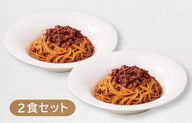 【1V】TOペア得セット All Beef のミートスパゲッティ