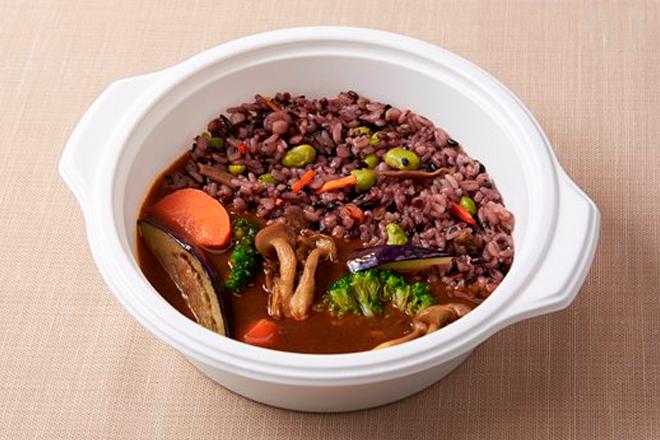 十六穀米のベジタブルカレー