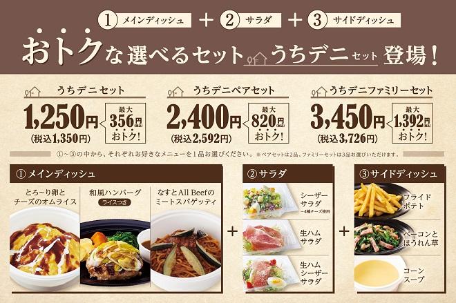 【期間限定 20%OFF】うちデニセット